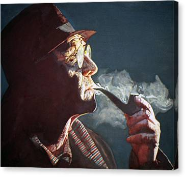 Maigret Canvas Print by Michael Haslam