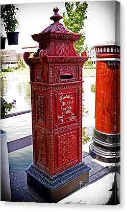 Mailbox Canvas Print by Thanh Tran