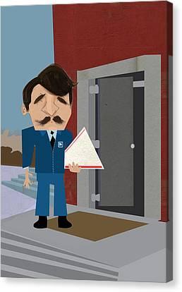 Mailman Canvas Print