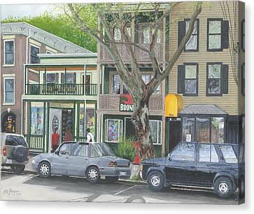 main st so Piermont NY Canvas Print by Stuart B Yaeger