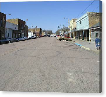 Main Street Canvas Print by Steve Sperry