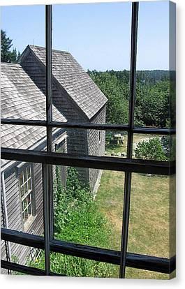 Maine Window Canvas Print