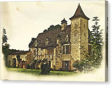 Maison De Martelet Canvas Print by Paul Topp
