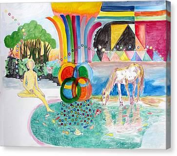 Maitreya Canvas Print