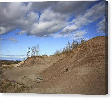Canvas Print featuring the photograph Majestic Dunes by Patrice Zinck