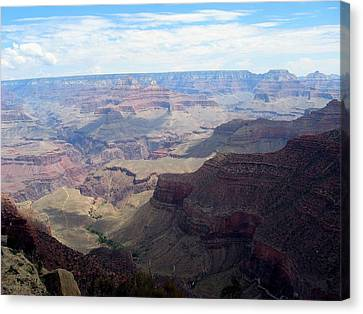 Majestic Grand Canyon Canvas Print by Mitch Hino