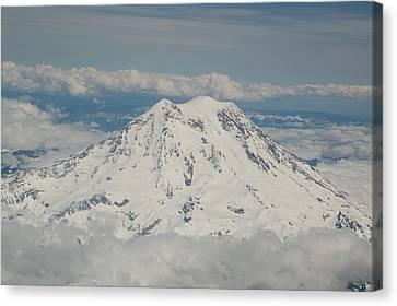 Divine Breath Canvas Print - Majestic Mount Raineir by Paradise