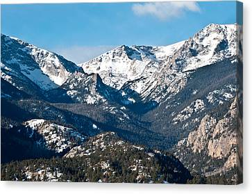 Majestic Rockies Canvas Print by Colleen Coccia