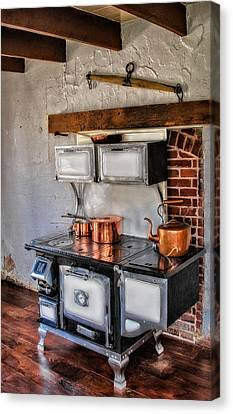 Old Fashioned Canvas Print - Majestic Stove No. 1 by Susan Candelario