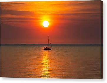 Top-end Canvas Print - Majestic Sunset V2 by Douglas Barnard