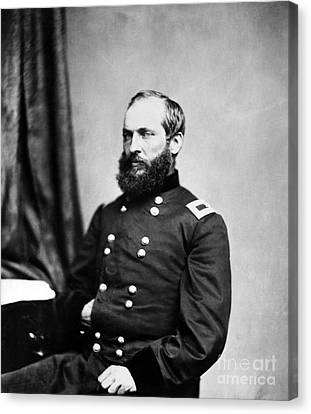 Major General Garfield, 20th American Canvas Print by Chicago Historical Society