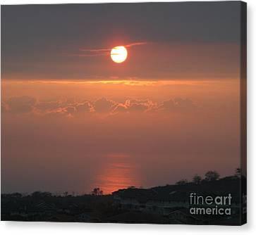 Makakilo Sunset Canvas Print
