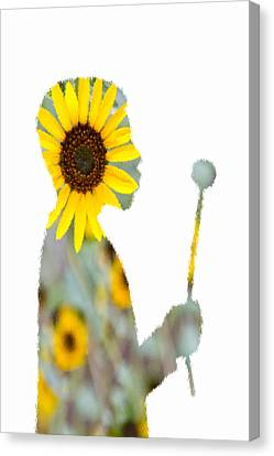 Make A Wish Sunlover Canvas Print by Angelina Vick