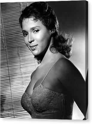 Malaga, Dorothy Dandridge, 1960 Canvas Print by Everett