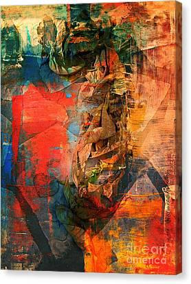 Malaria Canvas Print by Fania Simon