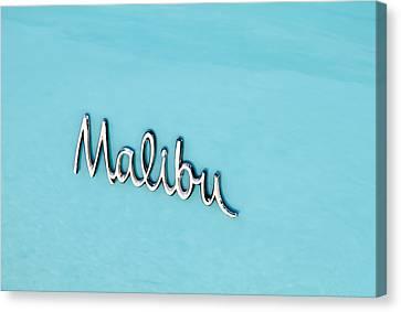 Malibu Insignia Canvas Print by Tony Grider
