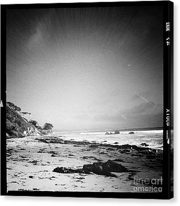 Canvas Print featuring the photograph Malibu Peace And Tranquility by Nina Prommer