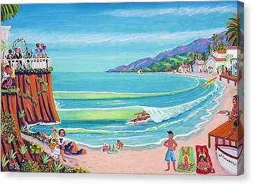 Malibu Shoes Optional Canvas Print by Frank Strasser