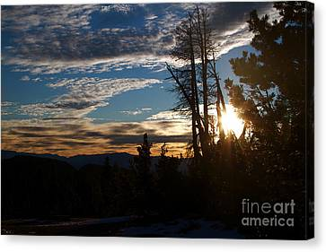 Mammoth Mountain California At Sunrise Canvas Print by ELITE IMAGE photography By Chad McDermott
