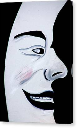 Man In The Moon Canvas Print by Jeff Lowe