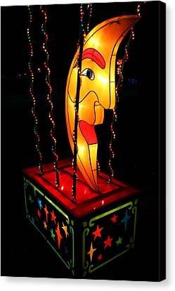 Man In The Moon Lantern Canvas Print by Greg Matchick