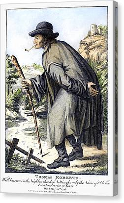 Man With Cane, C1795 Canvas Print by Granger