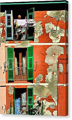 Manarola Apartment Canvas Print