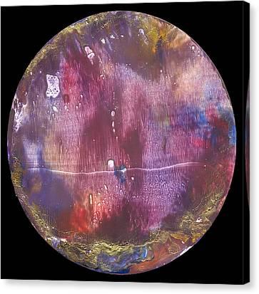 Mandala 9 Canvas Print by Heather Hennick