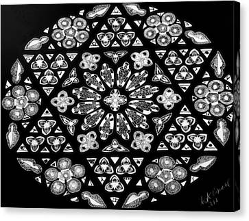 Mandala Of Hope Phase 1 Canvas Print