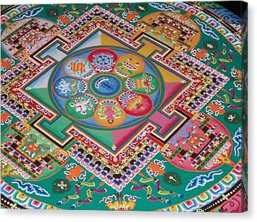 Mandala Canvas Print by Sheila Silverstein
