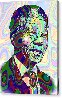 Mandiba Canvas Print by Harold Egbune