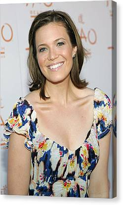 Mandy Moore In Attendance For Tao Beach Canvas Print by Everett