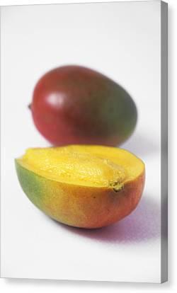 Mangoes Canvas Print by Veronique Leplat