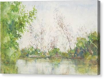Tuke Canvas Print - Mangrove Swamp by Henry Scott Tuke