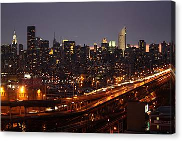 Manhattan- 2 Canvas Print by Mark Ashkenazi