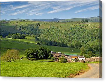 Canvas Print featuring the photograph Manifold Valley - Staffordshire by Rod Jones