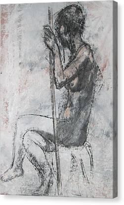 Mannerist Nude Canvas Print