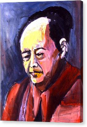 Mao Canvas Print by Les Leffingwell