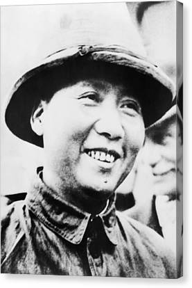 Mao Zedong, Leader Of Communist Faction Canvas Print