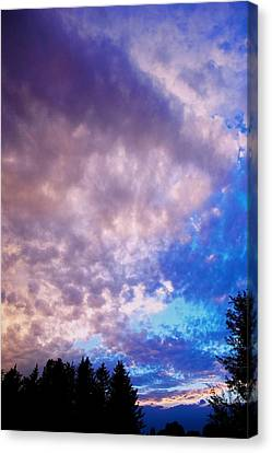 Marble Sky 2 Canvas Print by Kevin Bone