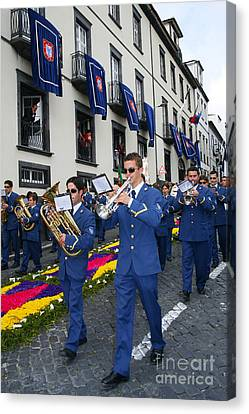 Marching Band Canvas Print by Gaspar Avila
