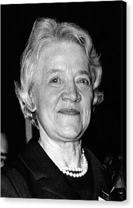 Margaret Chase Smith, 1897-1997 Canvas Print by Everett