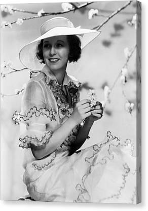 Margaret Sullavan, 1934 Canvas Print by Everett