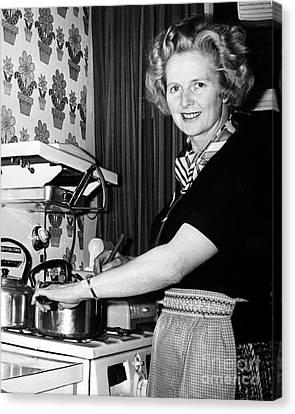 Margaret Thatcher (1925- ) Canvas Print by Granger