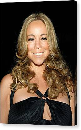 Mariah Carey At Arrivals For 2008 Canvas Print by Everett
