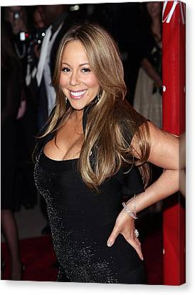 Mariah Carey At Arrivals For 21st Canvas Print by Everett