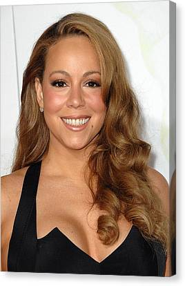 Mariah Carey At Arrivals For Afi Fest Canvas Print by Everett