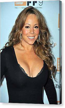Mariah Carey At Arrivals For New York Canvas Print by Everett