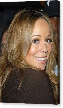 Sullivan Canvas Print - Mariah Carey At Talk Show Appearance by Everett