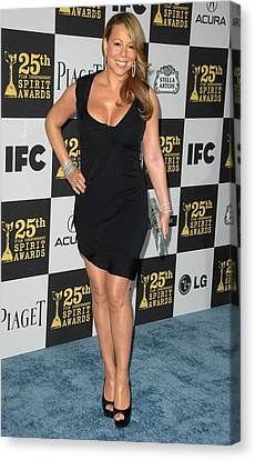 Mariah Carey In Attendance For 25th Canvas Print by Everett